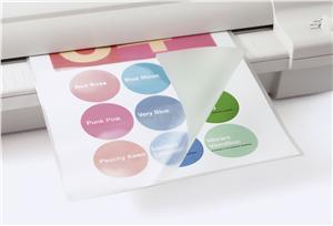 Laminovací fólie Eurosupplies 80 x 110 mm, 125 mic, lesklá - LAMPO80110125