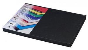 Kartonové desky Delta A3, 250g, černá