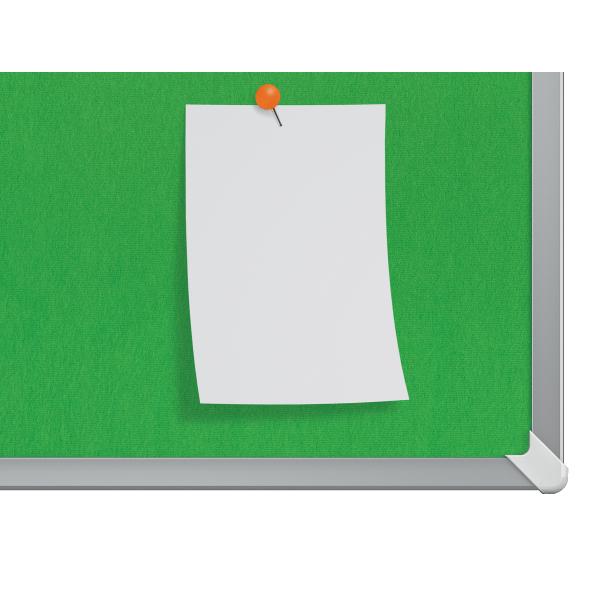 Textilní nástěnka Nobo Widescreen 32'', zelená - 1905314