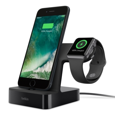 BELKIN VALET Charge dock for iPhone & Apple watch - Black