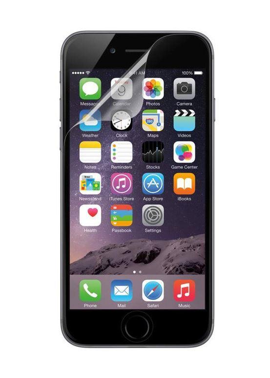 BELKIN Fólie pro iPhone 6, čirá, 3ks