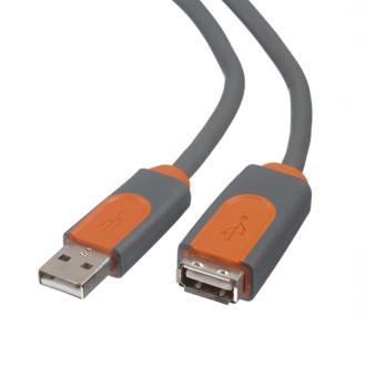 BELKIN USB 2.0 prodluž. kabel A-A, premium, 1.8 m