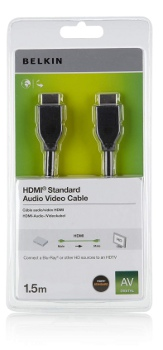 BELKIN HDMI - HDMI 1.4 AV kabel, 1.5 m