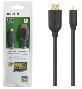 BELKIN HDMI - Micro HDMI kabel Gold, 1 m