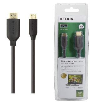 BELKIN HDMI - Mini HDMI kabel Gold, 3m