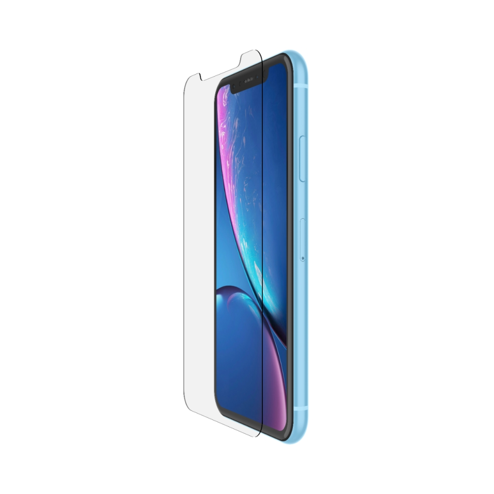 BELKIN Tempered Glass for iPhone XR  with installation frame