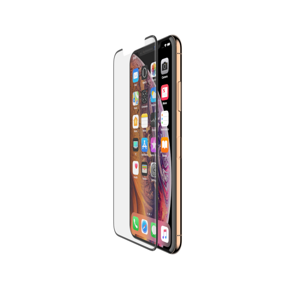 BELKIN Tempered Curve Black Screen Protector for iPhone XS Max