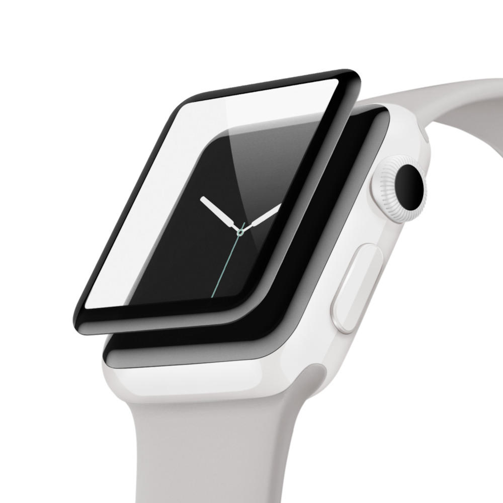 BELKIN UltraCurve Screen Protector for Apple Watch 42mm Series 2/3 - New water resistant