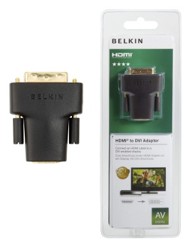 BELKIN HDMI - DVI redukce (F/M) Gold