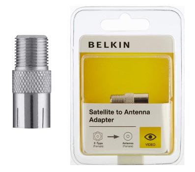 BELKIN Adaptér satelit - anténa (F-Type F / F)