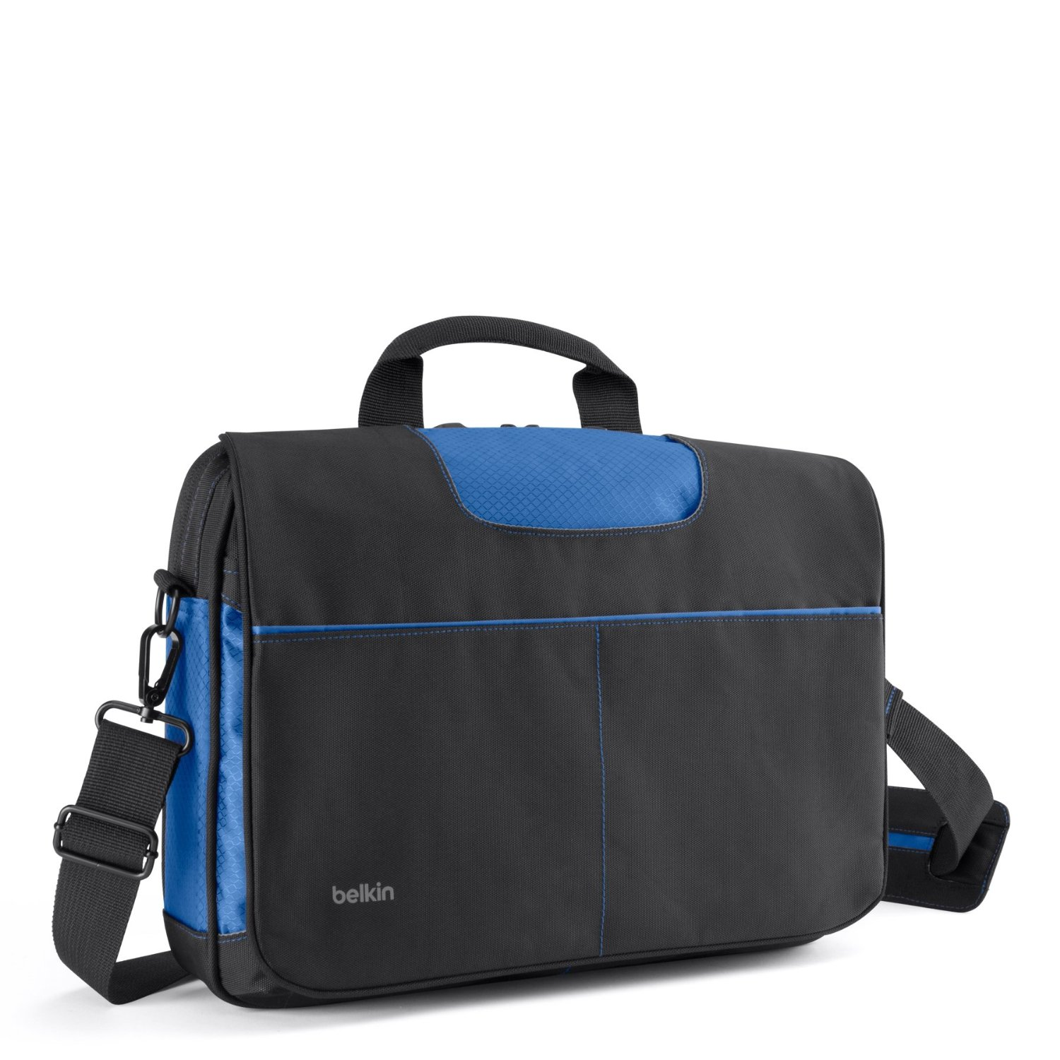 BELKIN Brašna 13'' Messenger Bag - Black/Blue