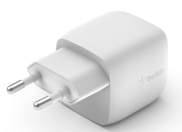 BELKIN 30W BoostCharge nabíječka USB-C - WCH001vfWH