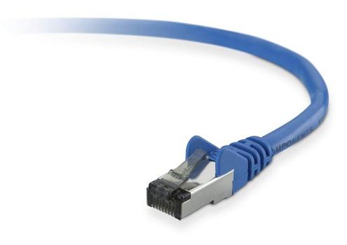BELKIN Patch kabel Cat6, RJ45, STP, modrý, 10 m