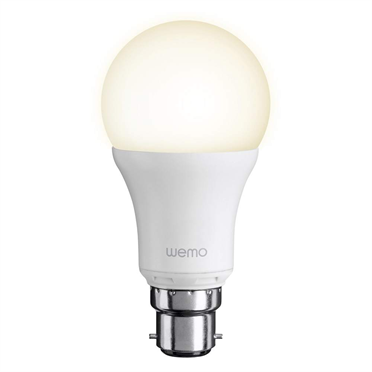 BELKIN WeMo Smart LED Bulb, B22