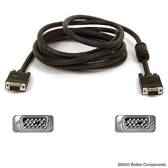 BELKIN VGA/SVGA spojovací kabel 15M/15M 3m