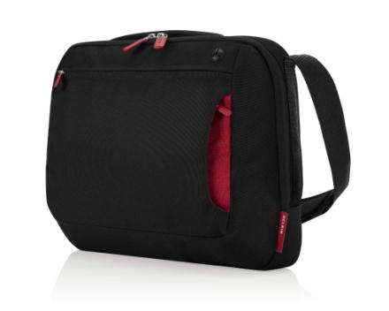 BELKIN Brašna Messenger Bag 15.6 , černá/vínová