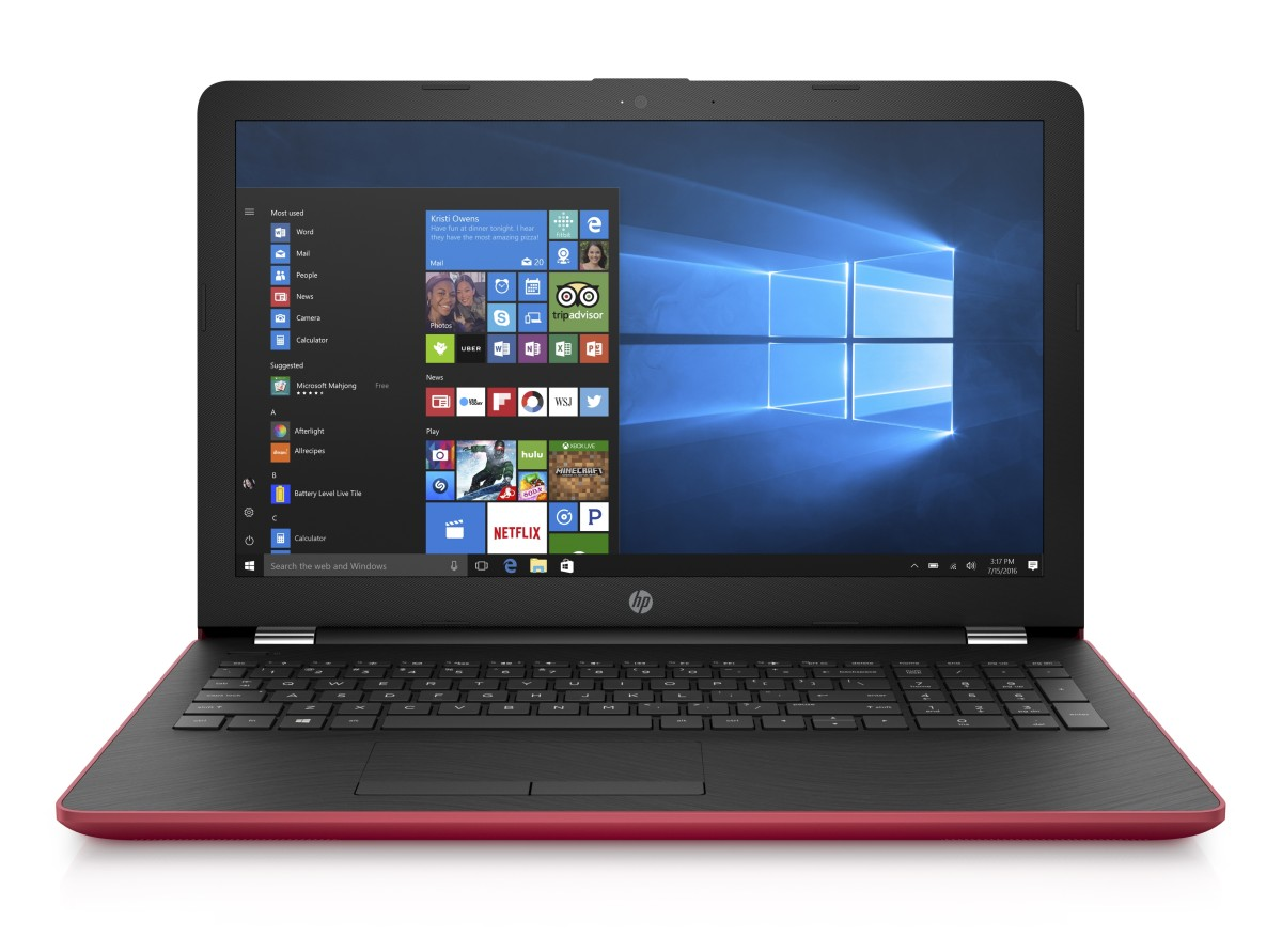 HP 15-bw053nc FHD A9-9420/8GB/128SSD+1TB/DVD/2RServis/W10H/Empress red