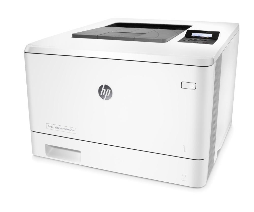 HP LaserJet Pro 400 color M452nw /A4, 27ppm, WiFi