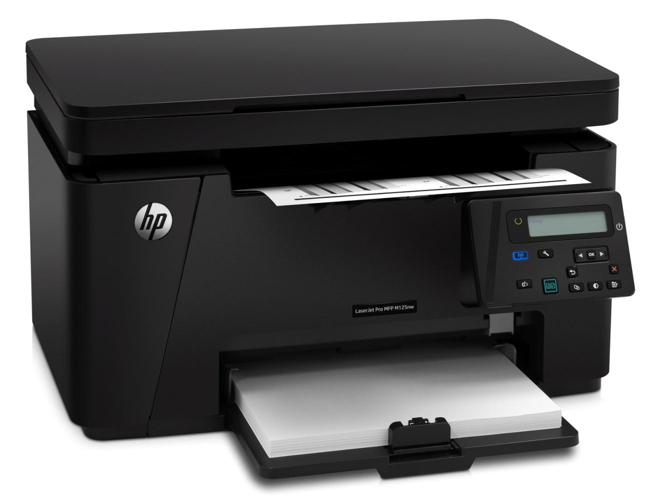 HP LaserJet Pro MFP M125nw /A4,20ppm, USB,LAN,WLAN
