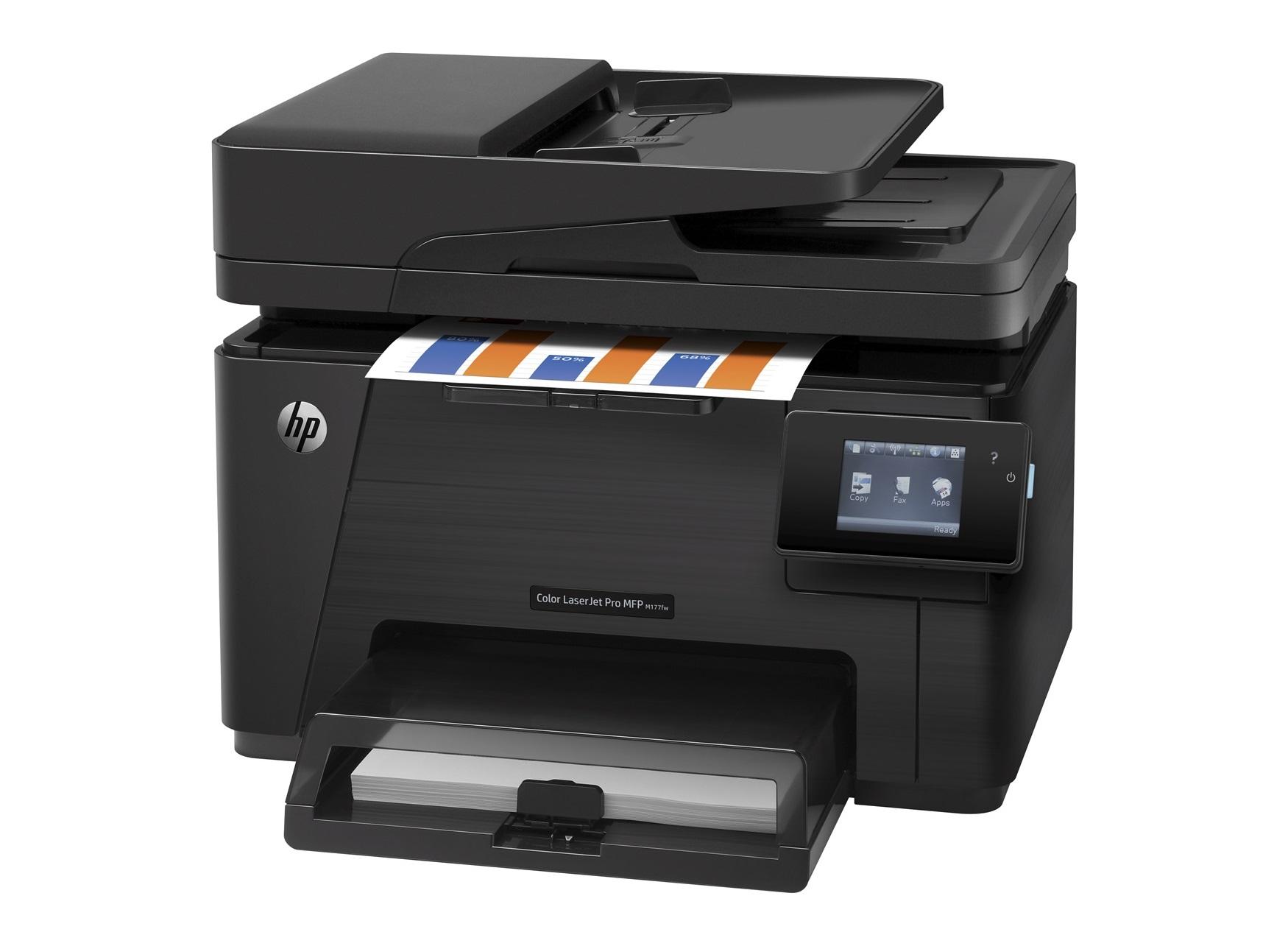 HP Color LaserJet Pro MFP M177fw /A4, 16/4ppm