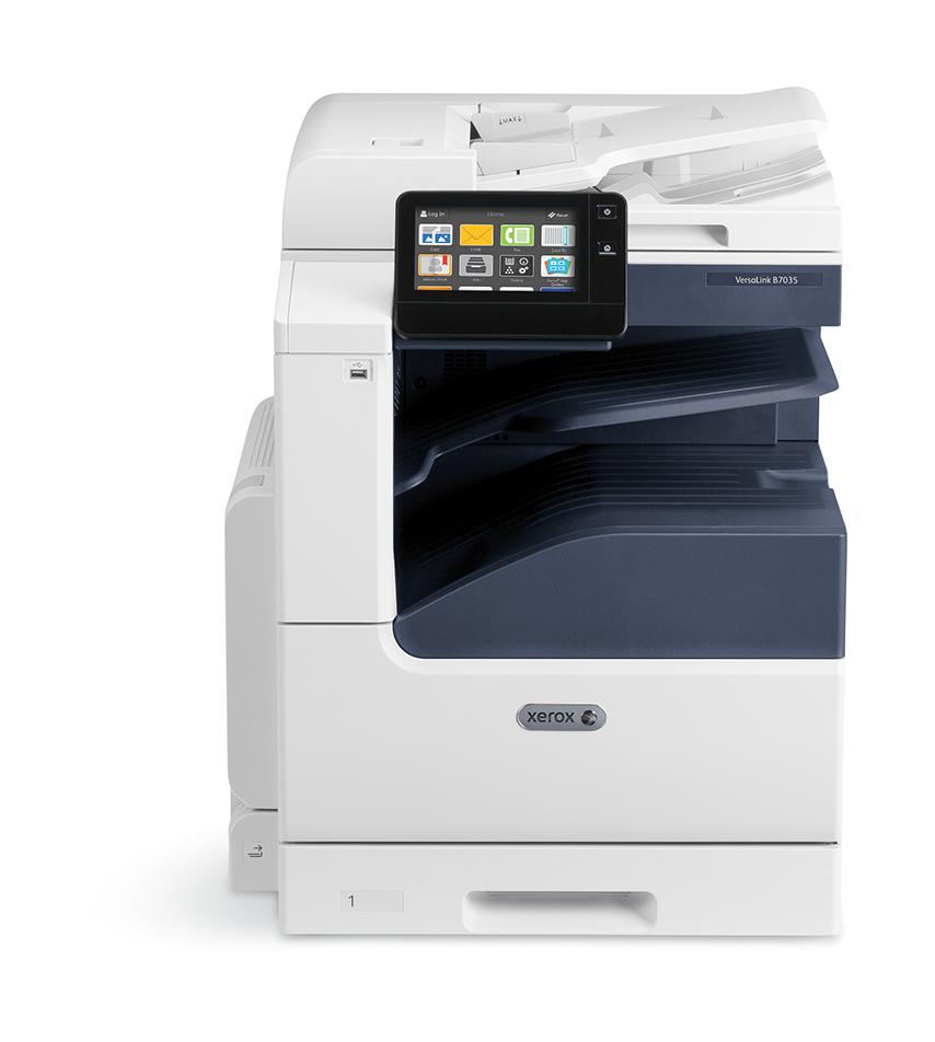Xerox VersaLink B70xx Duplex Copy/print/Scan PCL5c/6 DADF 2 Trays Total 620 Sheets