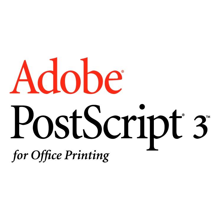 Xerox Adobe PostScript 3 - pro modely s barevným s