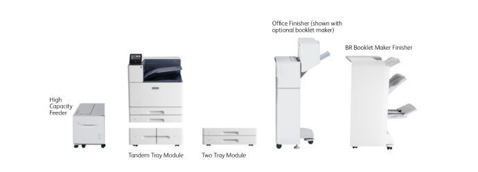2000 Sheet Tandem Tray Module
