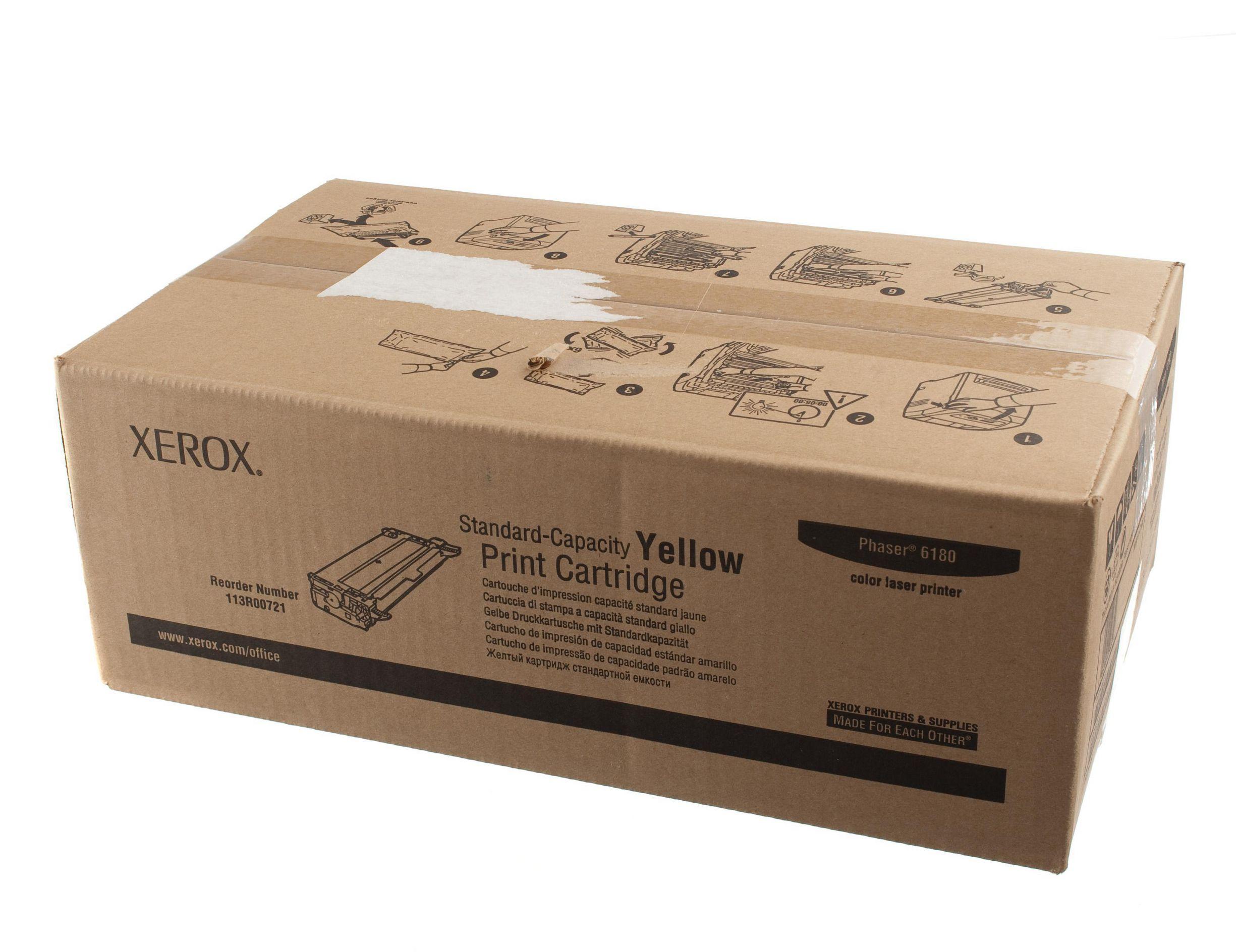 Xerox Toner Yellow pro Phaser 6180 (2.000 str) - 113R00721