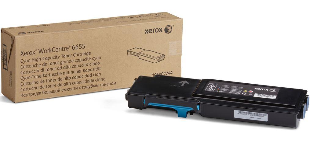 Xerox tonerová kazeta pro WC 6655, 7 500 s. Cyan