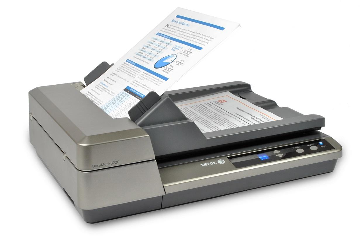 Xerox Documate 3220 Scanner