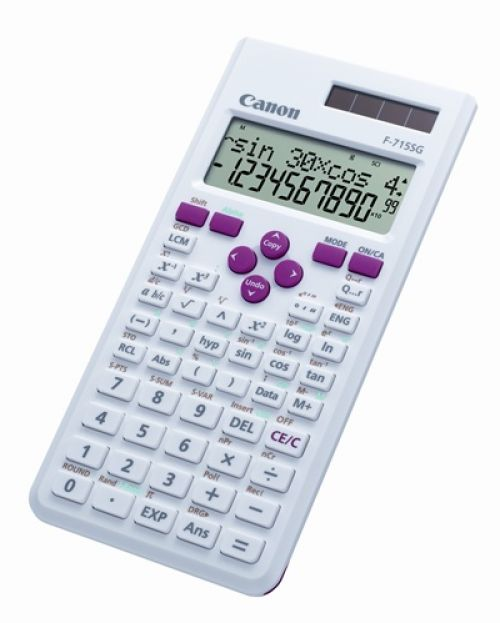 Canon kalkulačka F-715SG bílo-růžová - 5730B002AB