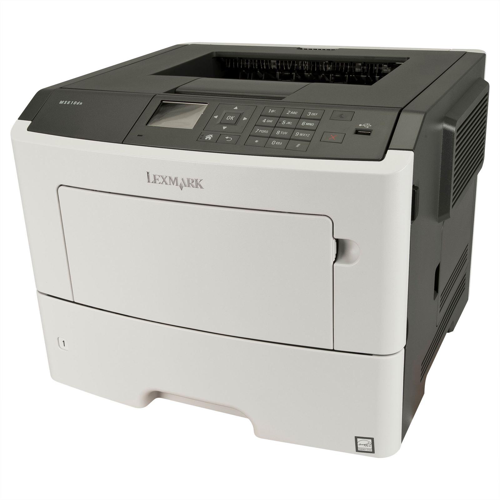 Lexmark MS610dn,A4,1200x1200dpi,47ppm,duplex,LAN