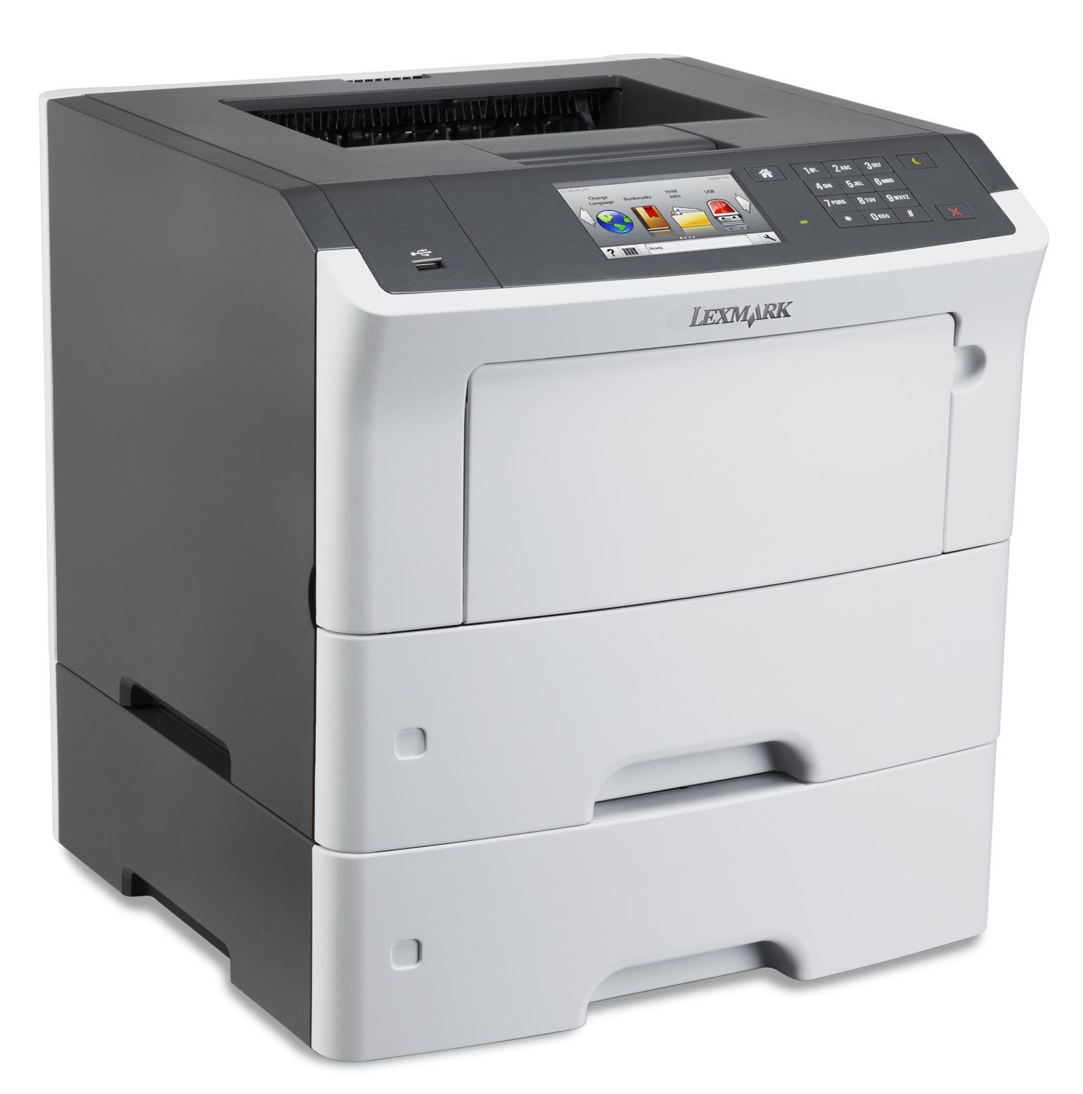 Lexmark MS610dte,A4,1200x1200dpi,47ppm,duplex,LAN