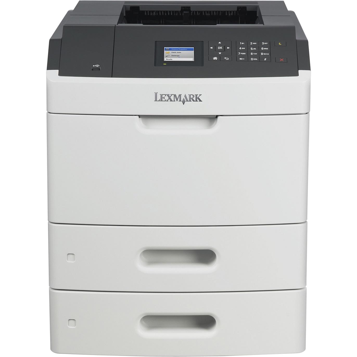 Lexmark MS810dtn,A4,1200x1200dpi,52ppm,duplex,LAN