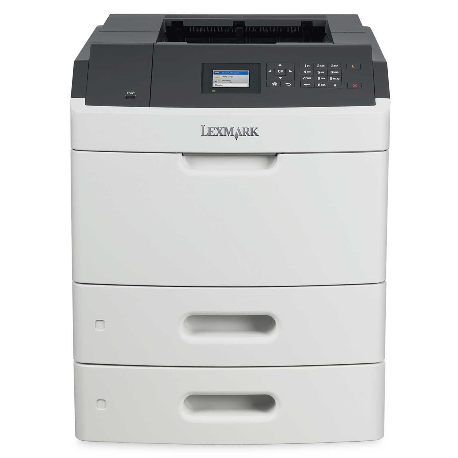 Lexmark MS812dtn,A4,1200x1200dpi,66ppm,duplex,LAN