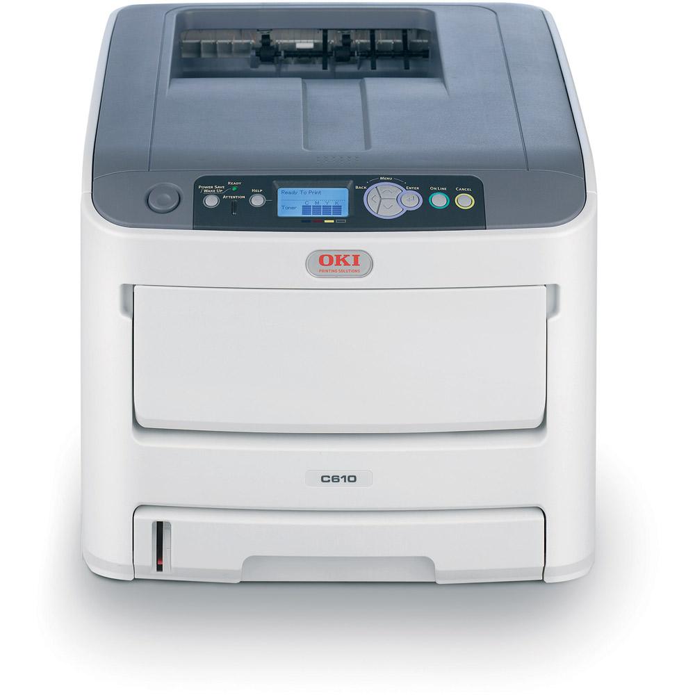 OKI C610dn A4 36/34ppm ProQ2400 USB LAN