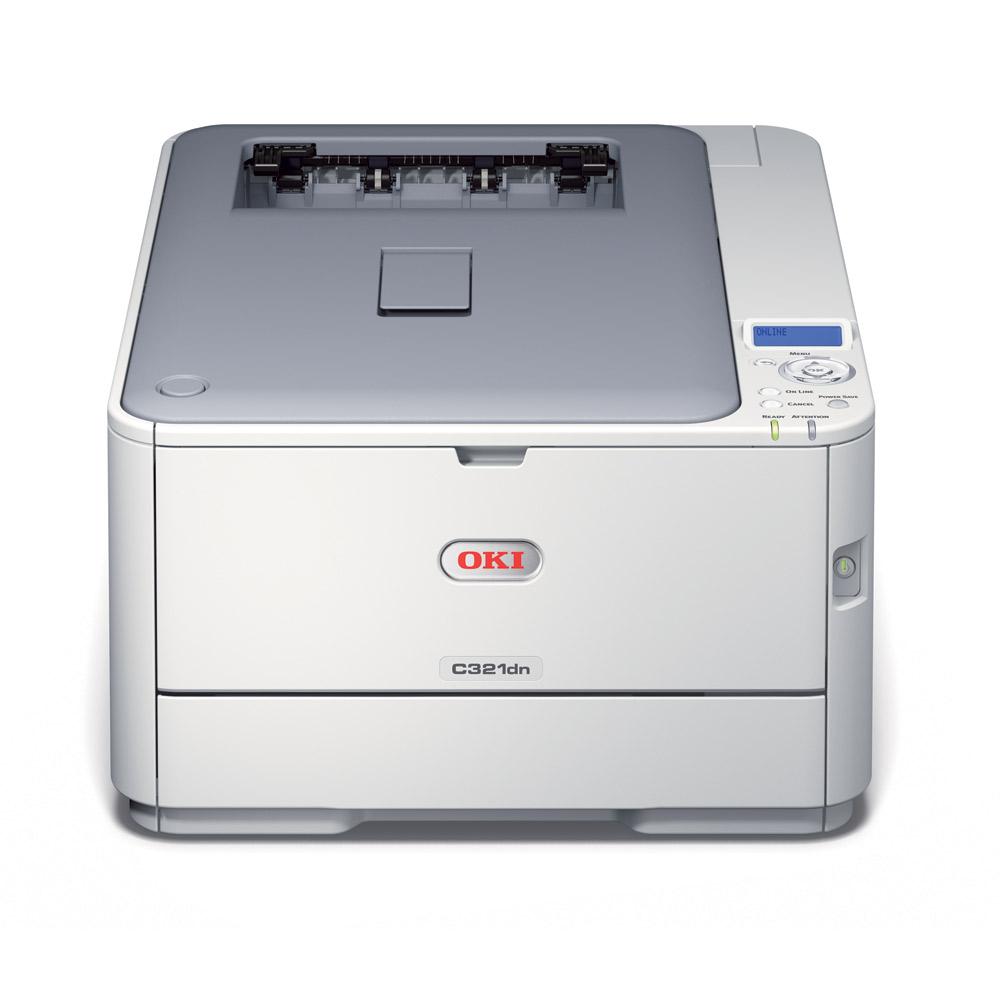 OKI C321dn A4 20/22 ppm ProQ2400 USB LAN