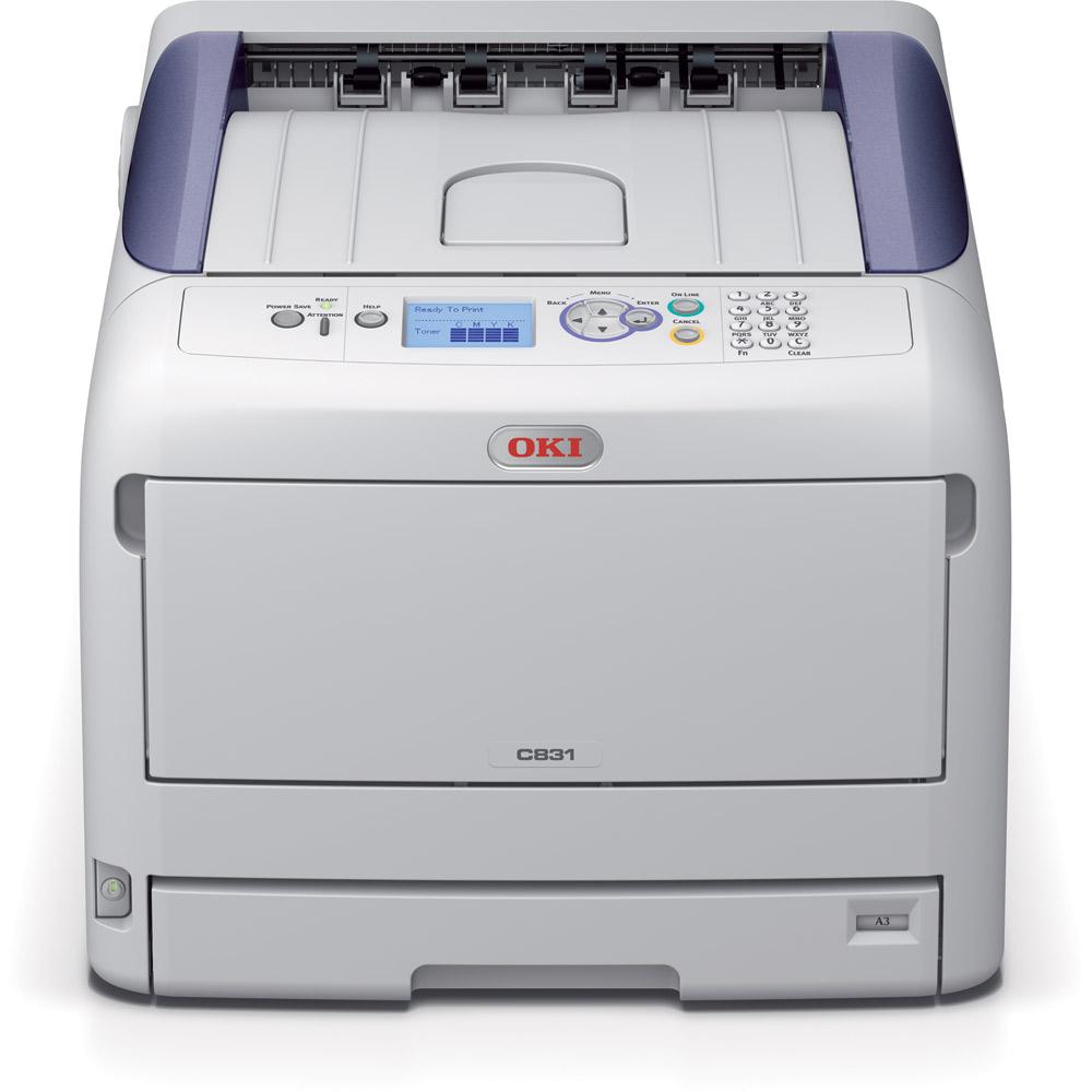 OKI C831n A3 35/35 ppm ProQ2400 USB LAN