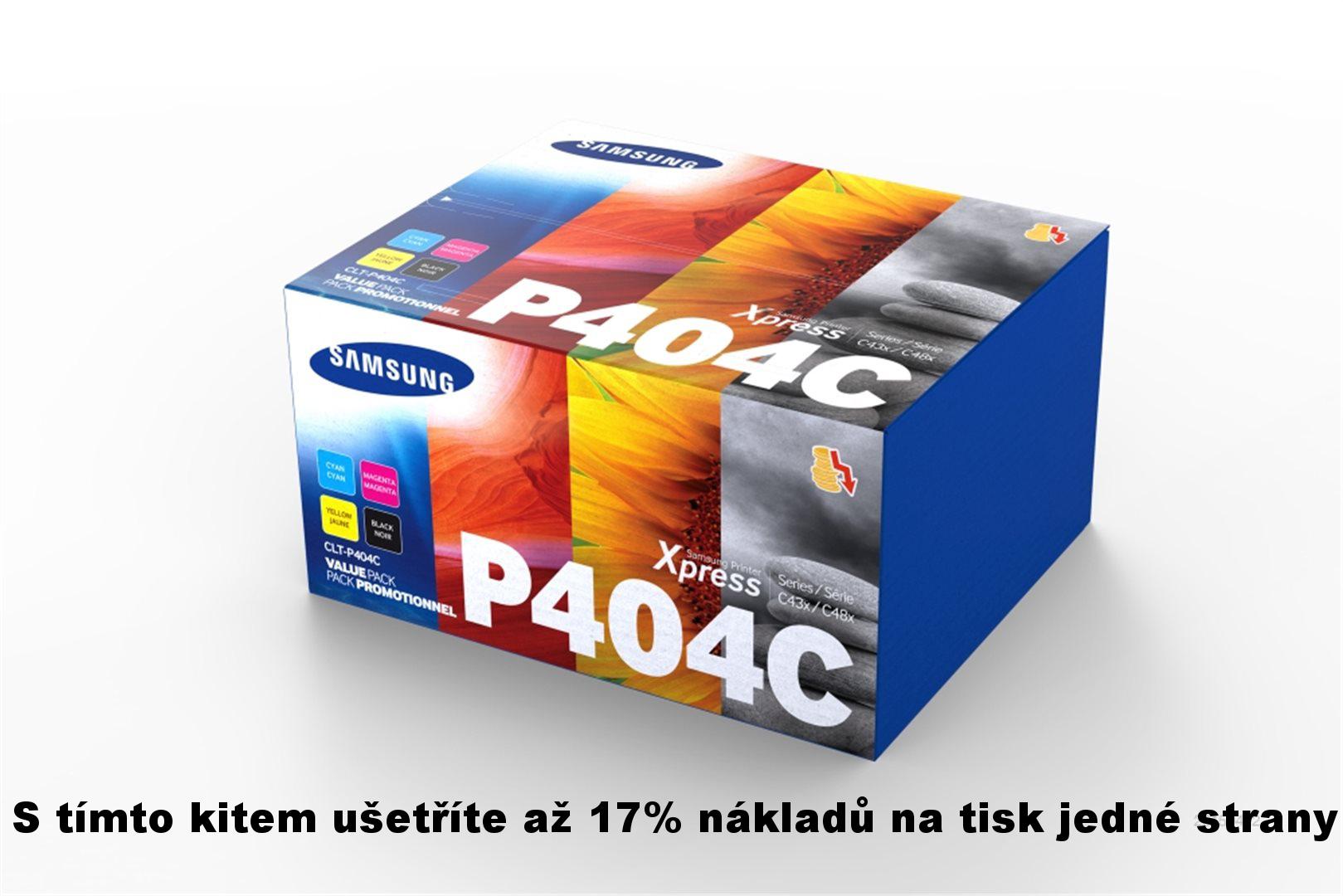 Samsung CLT-P404C/ELS Rainbow Toner Kit C/M/Y/K