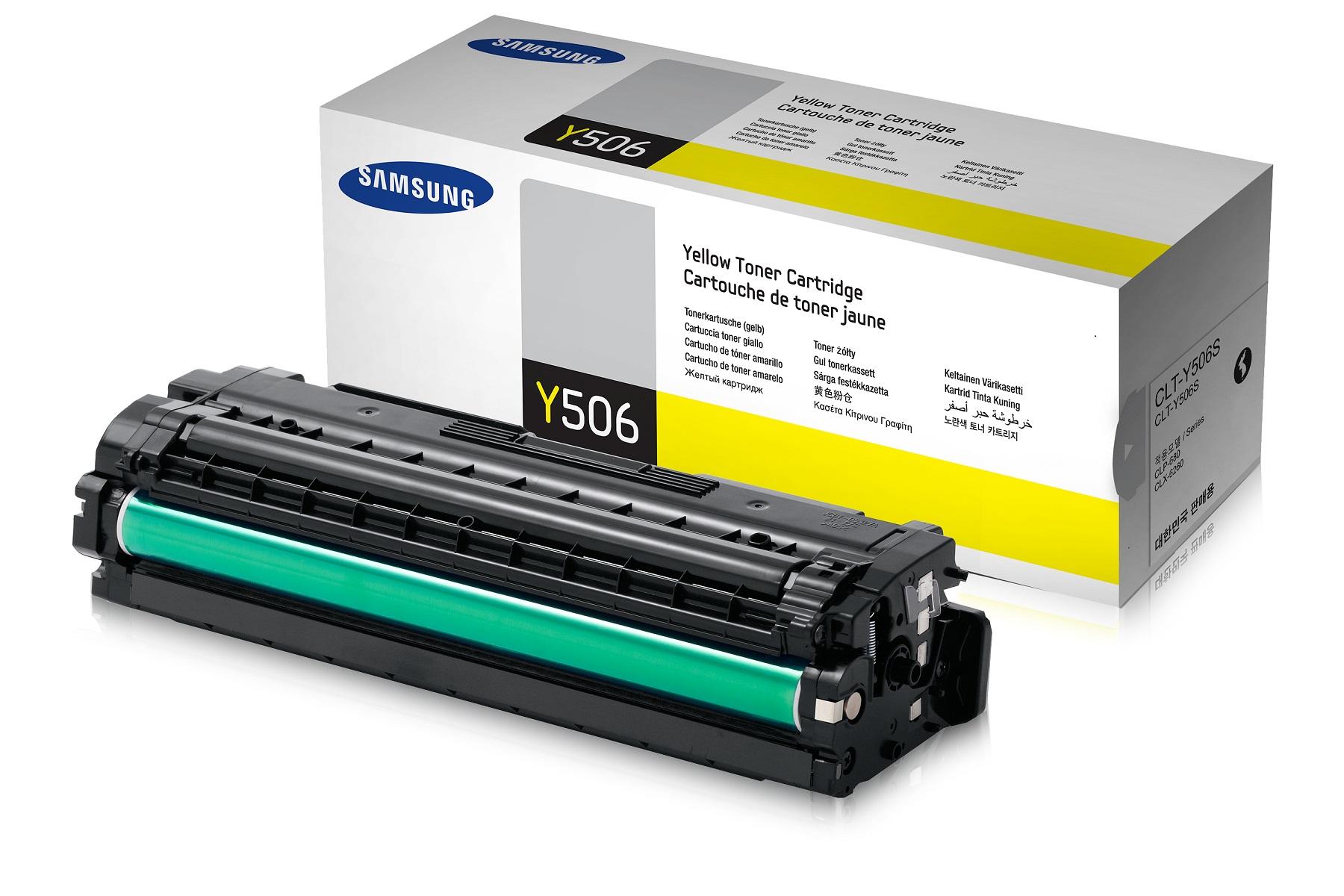 Samsung CLT-Y506S/ELS 1500 stran Toner Yellow