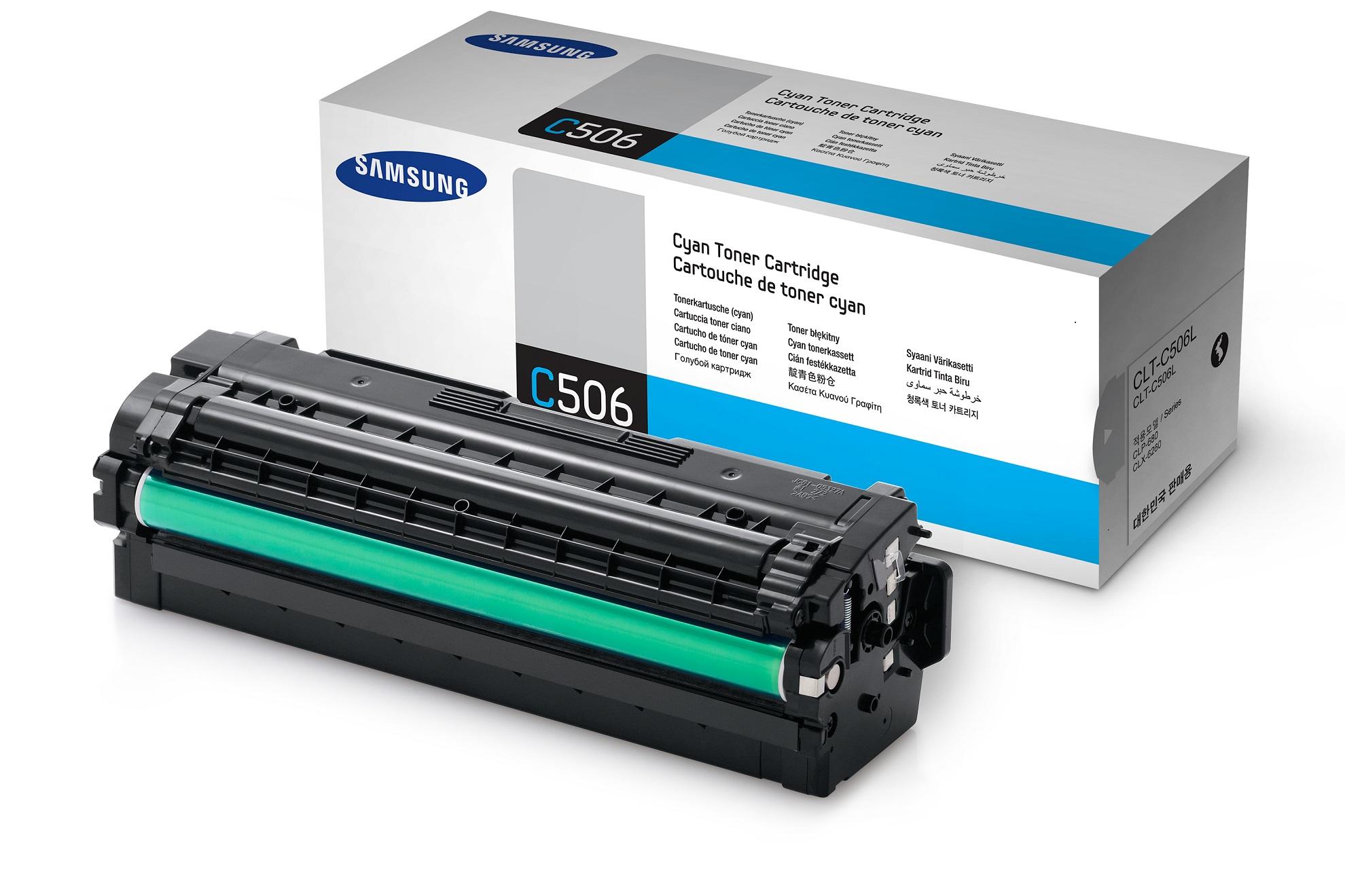 Samsung CLT-C506L/ELS 3500 stran Toner Cyan