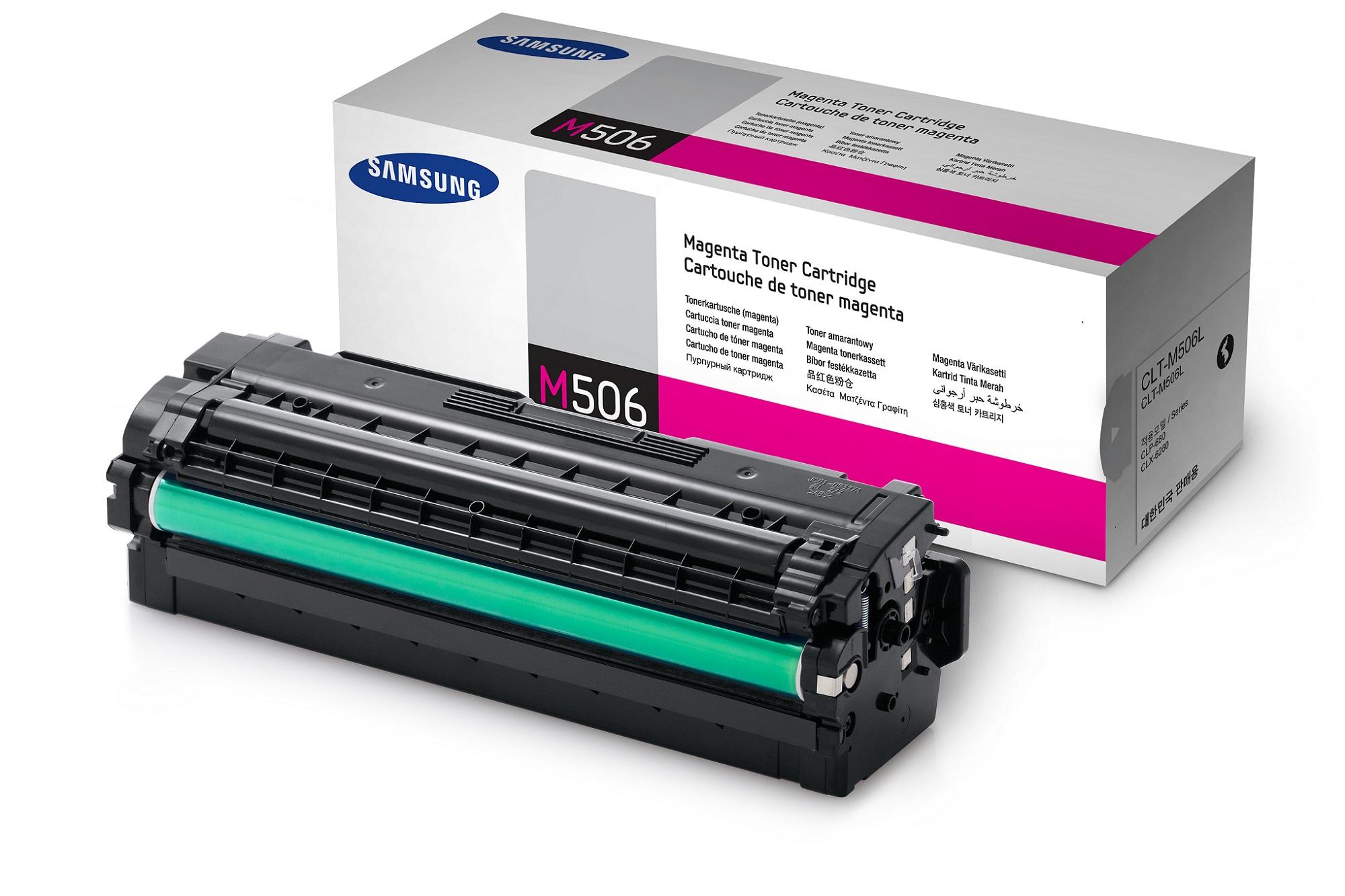 Samsung CLT-M506L/ELS 3500 stran Toner Magenta
