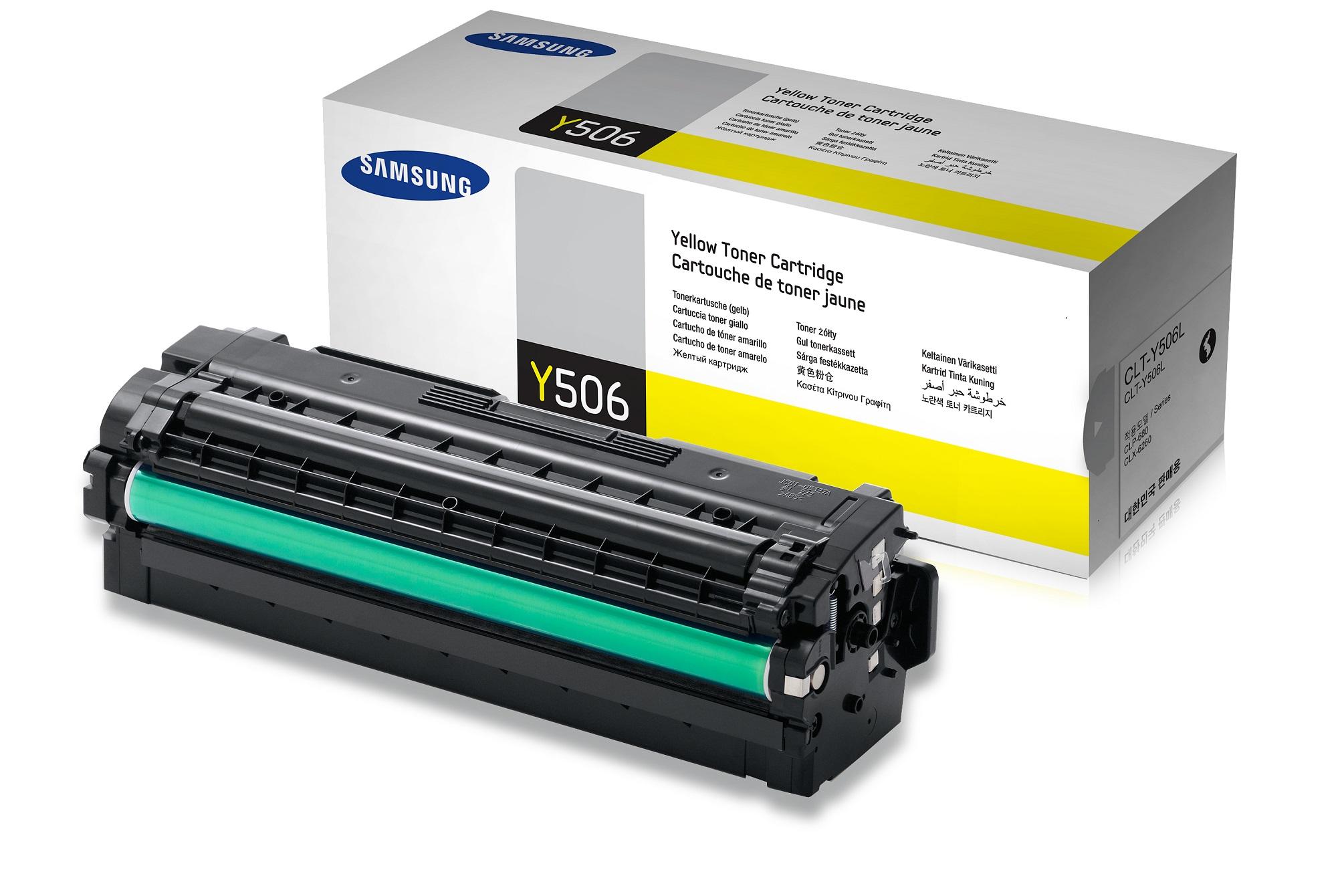 Samsung CLT-Y506L/ELS 3500 stran Toner Yellow