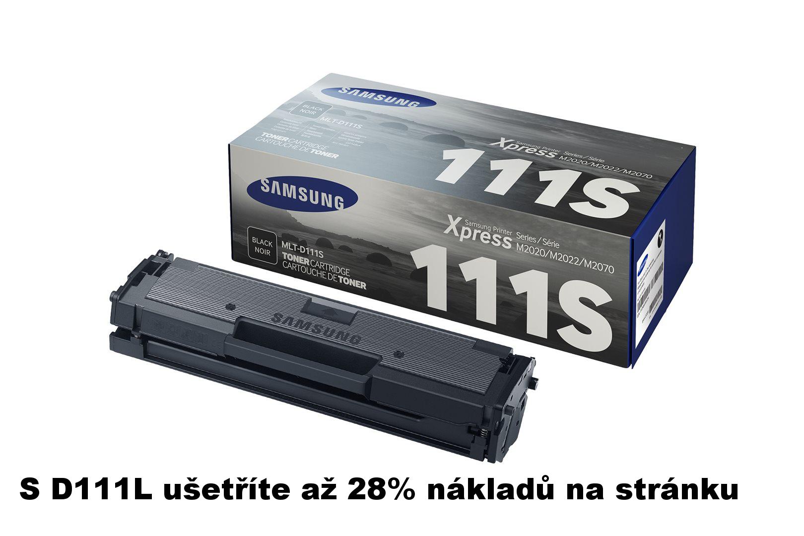 Samsung MLT-D111S/ELS Black Toner 1 000 stran