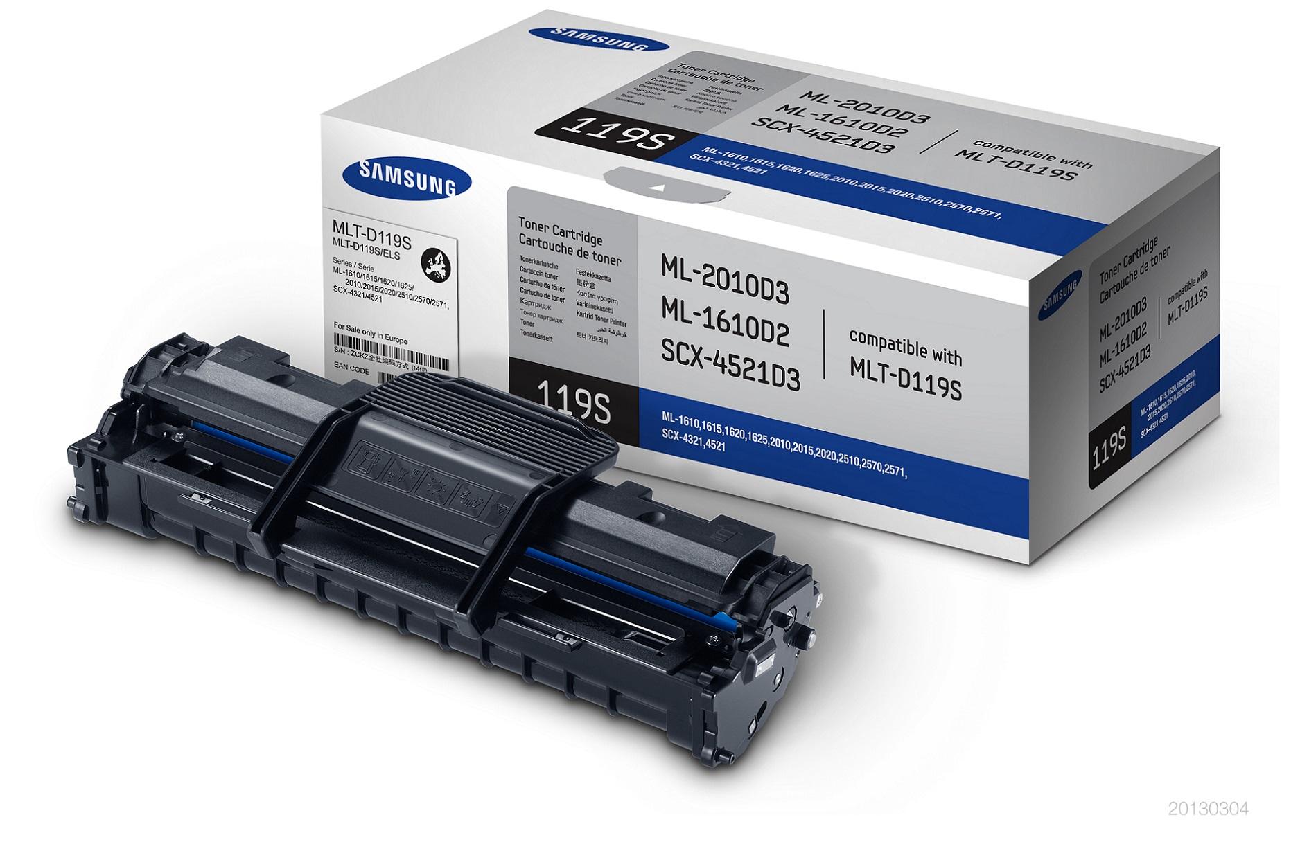 Samsung MLT-D119S/ELS Toner Black 2 000 stran