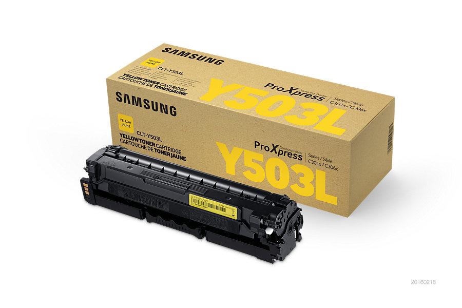 Samsung CLT-Y503L/ELS Yellow Toner 5 000 stran
