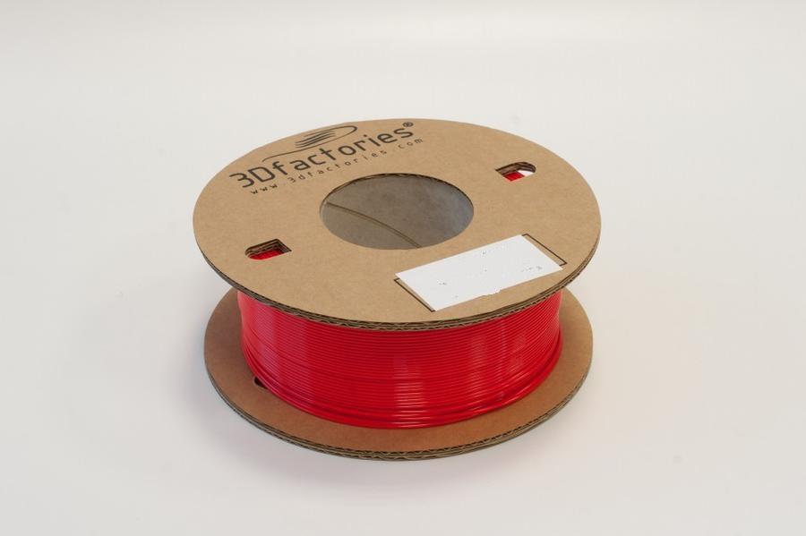 3D Factories tisková struna PLA 1,75 mm 5m červená