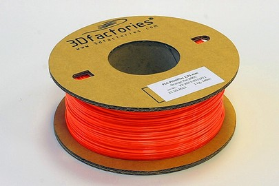 3D Factories tisková struna PLA 1,75 mm 5m oranžov