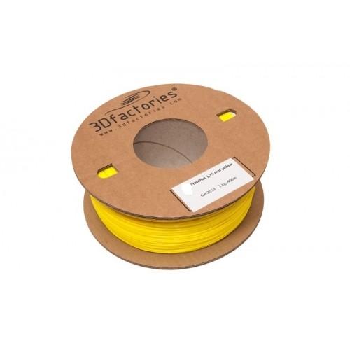 3D Factories tisková struna PLA 1,75 mm 5m žlutá