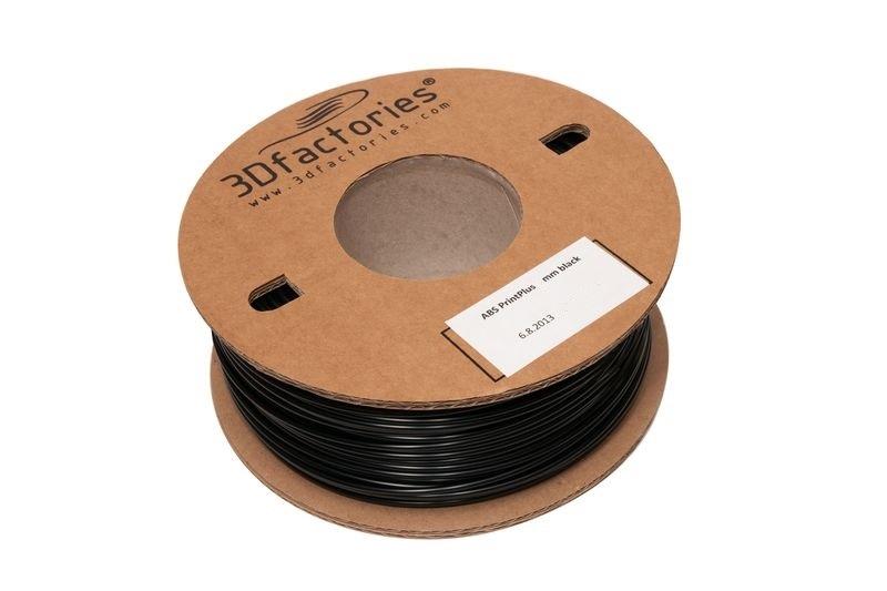 3D Factories tisková struna ABS 1,75 mm 5 m černá